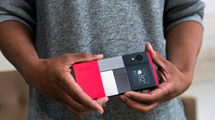 So ungefähr stellte sich Google ein Smartphone mit Project Ara vor.