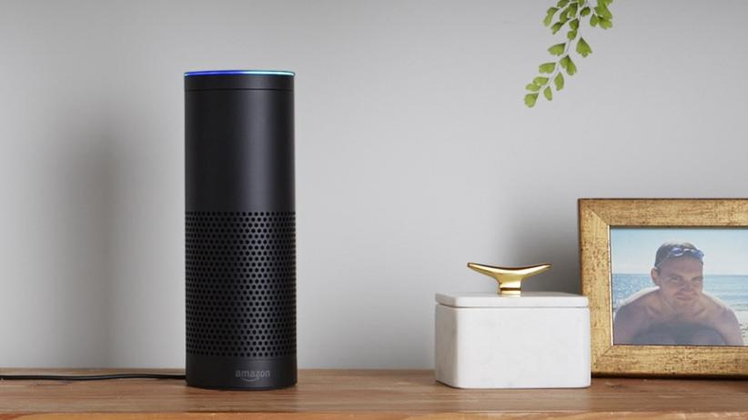 Amazon Echo: Passt in die moderne Wohnung: Amazon Echo.