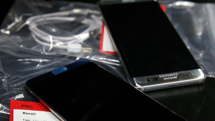 Galaxy Note 7: Smartphones vom Typ Galaxy Note 7 sind zum Austausch bestimmt.