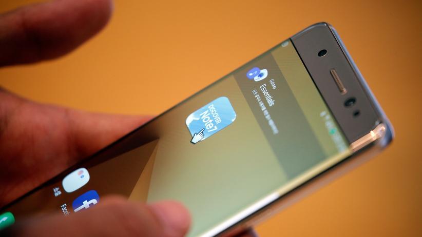 Samsung: USA verbieten Smartphone Galaxy Note 7 auf Flügen