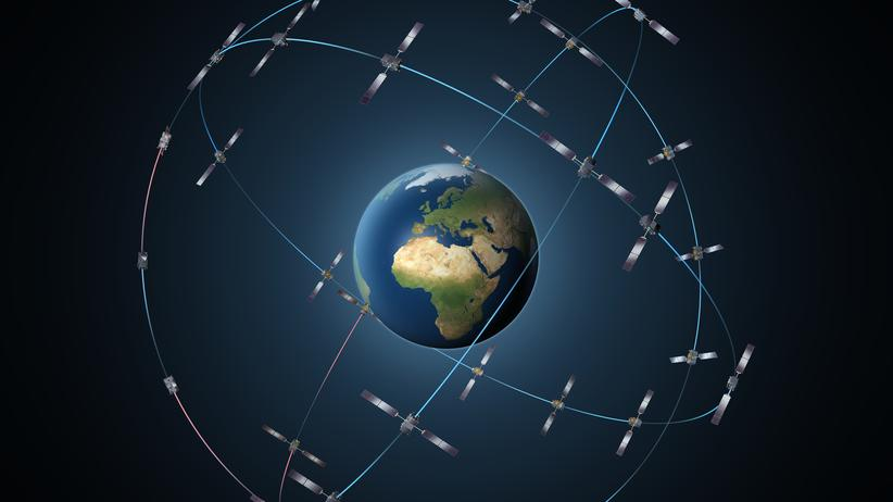 Satellitenkonstellation von Galileo
