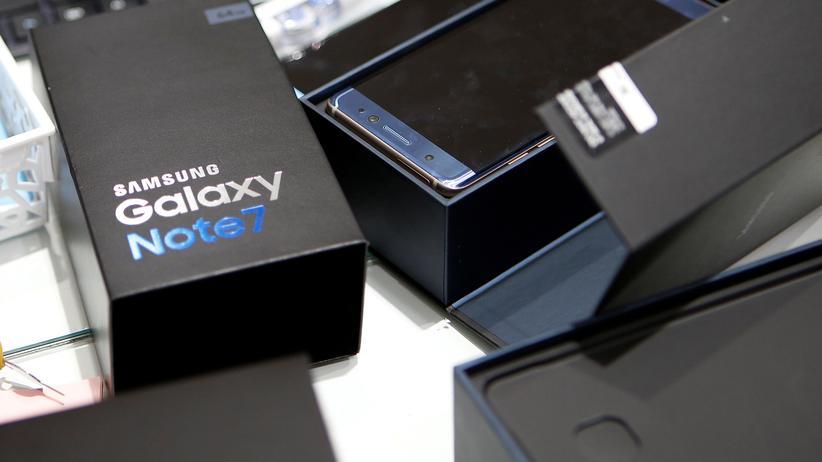 Zur Rückgabe bestimmt: Das Galaxy Note 7