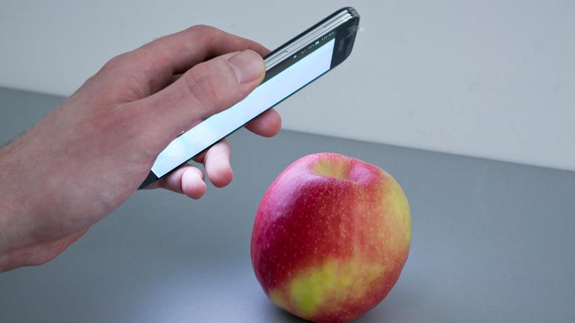 HawkSpex mobile: Lichtspektroskopie to go: Die App HawkSpex mobile im Einsatz