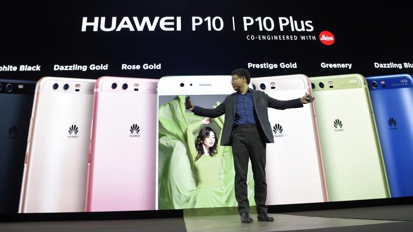 Mobile World Congress: Huaweis Smartphone für den schönen Schein