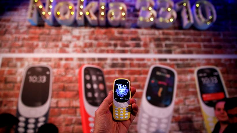 Mobile World Congress: Das neue Nokia 3310 – ein Star der Messe in Barcelona.