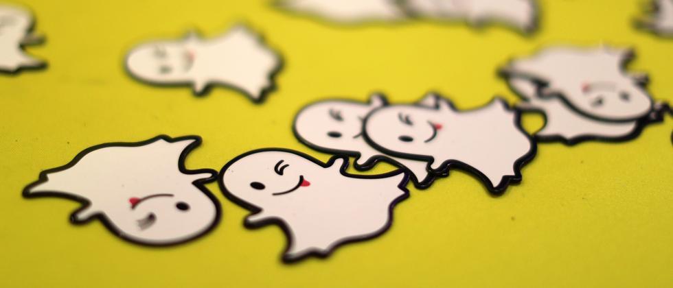 Snapchat-Gespenster