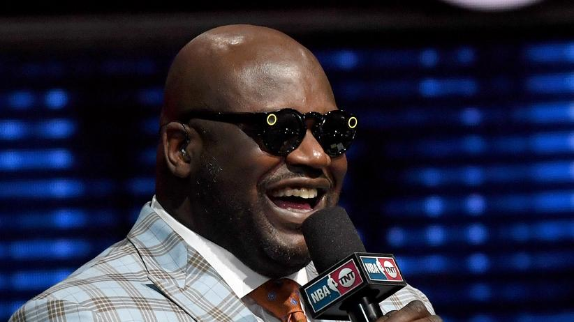 Shaquille O'Neal mit Spectacles