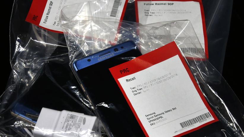 Samsung hatte alle Kunden aufgefordert, ihr Galaxy Note 7 zurückzugeben