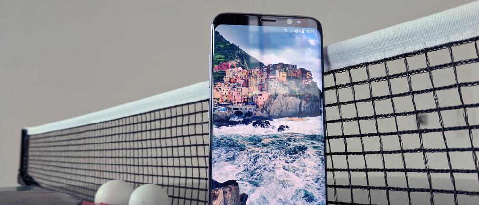 Das Samsung Galaxy S8 in der 5,8-Zoll-Version