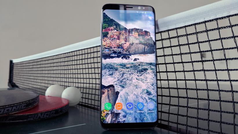 Samsung Galaxy S8: Wegsehen ist möglich, aber sinnlos
