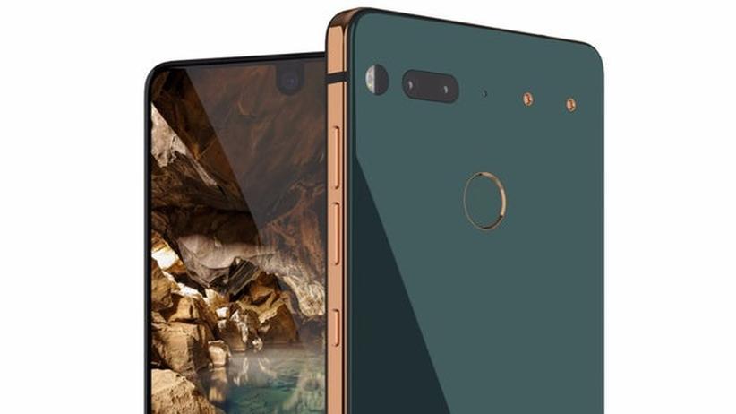 Das Essential Phone besteht aus Titan und Keramik.
