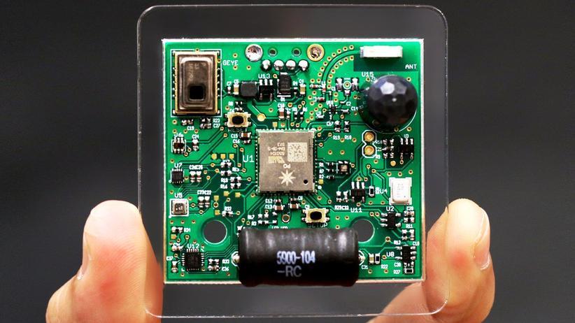 Der von der Carnegie Mellon Universität entwickelte Multisensor.