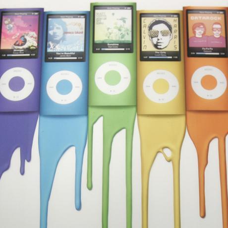 iPod Nano in der Version von 2008