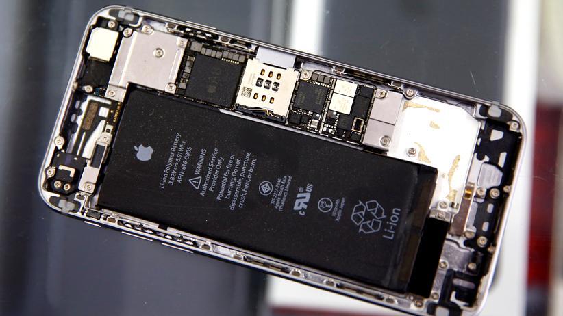 Geöffnetes iPhone