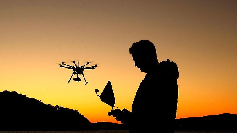 Drohnen: DJI ist der Weltmarktführer für zivile Multicopter.