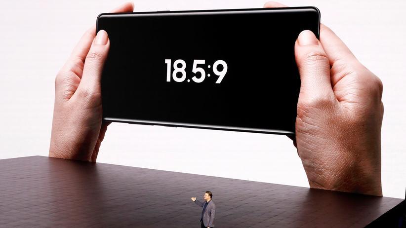 Das Galaxy Note 8 ist Samsungs bislang größtes Smartphone.