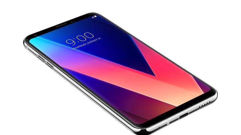 LG V30: Fast alles Display: das LG V30