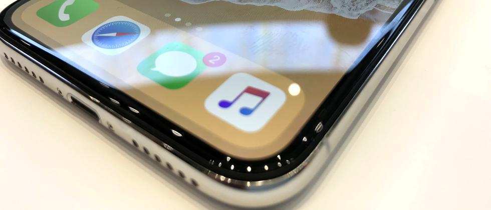 Der erste Eindruck vom iPhone X ist exzellent.