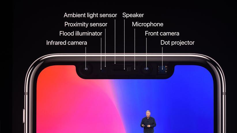 Phil Schiller erklärt die Technik hinter Face ID.