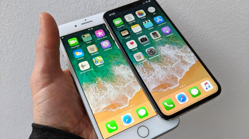 iPhone 7 Plus und iPhone X im Vergleich