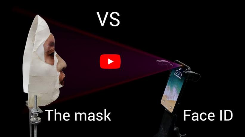 iPhone X: Face ID lässt sich angeblich mit Masken täuschen