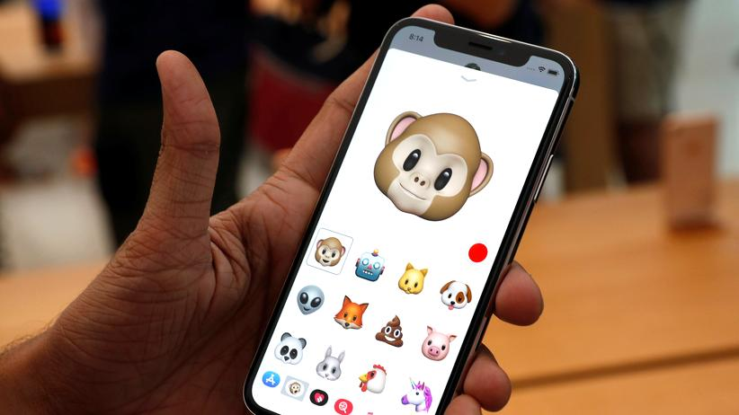 Animoji auf dem iPhone X