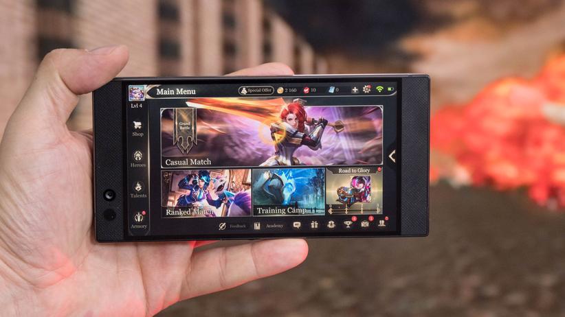 Razer Phone: Man muss kein Gamer sein, um dieses Smartphone zu mögen