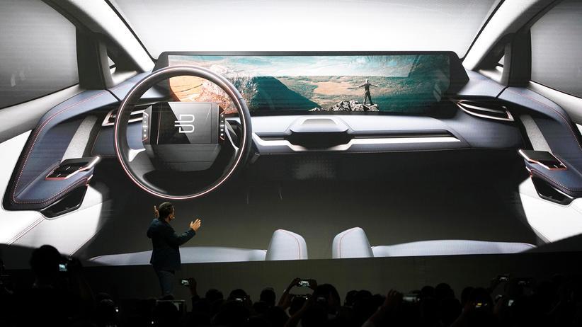 CES: Der Innenraum des SUV von Byton
