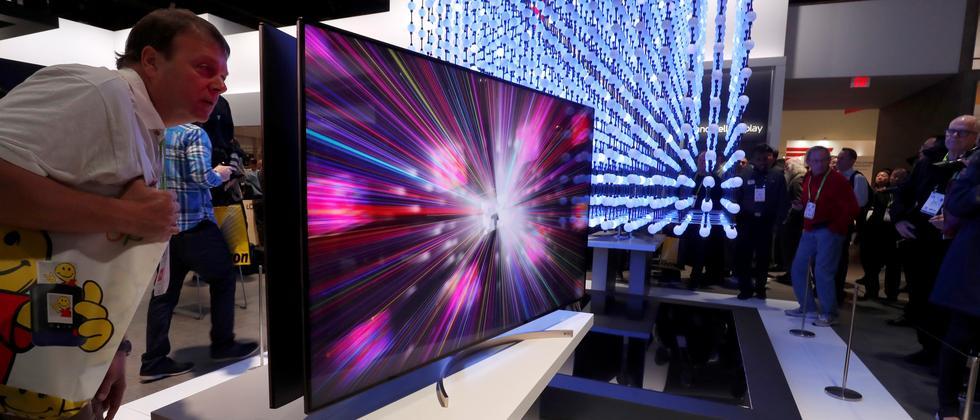 Auf der CES geht es auch, aber nicht nur um TV-Geräte