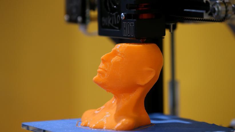 Techniktrends: Ein 3-D-Drucker auf der CES