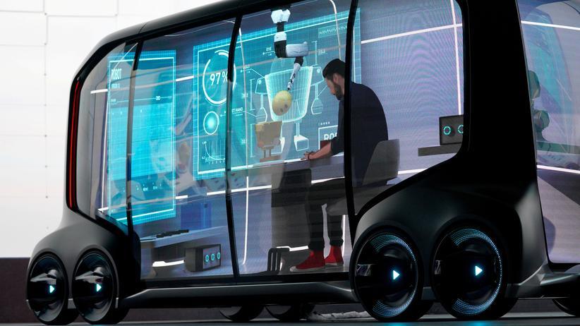 Techniktrends: Ein selbstfahrendes Konzeptauto von Toyota