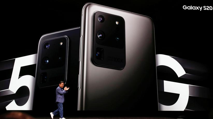 Samsung Galaxy S20: Kameras, Kameras, Kameras: das Galaxy S20