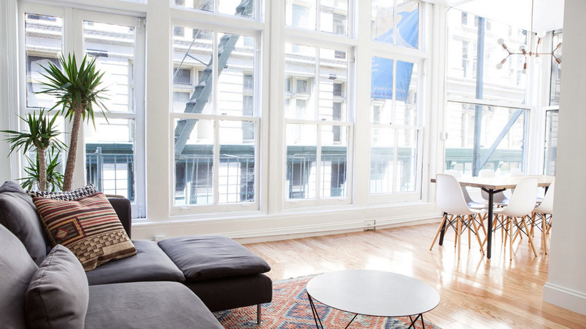 Breather: Breather-Raum in Manhattan: Das Sofa ist mindestens genauso wichtig wie der Konferenztisch.