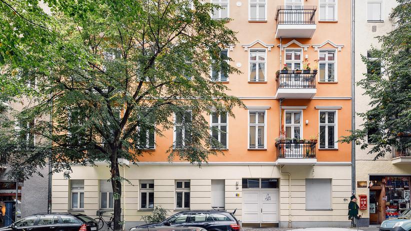 Online-Plattformen: Das Haus nahe dem Helmholtzplatz in Prenzlauer Berg in Berlin