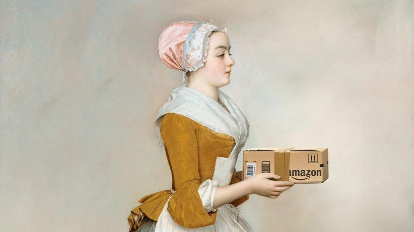Dienstboten: Melady, Ihr Paket ist da.
