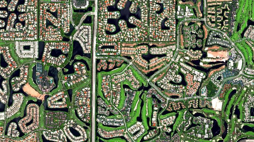 Fotografie: Urbanität, aus dem All gesehen