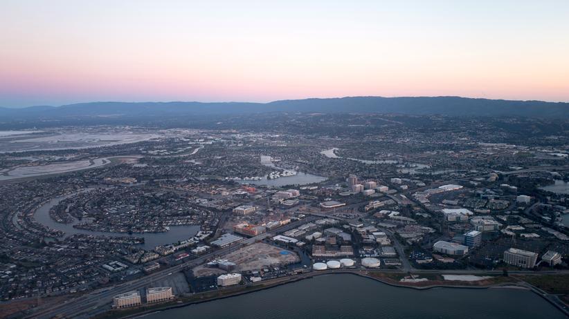 Kalifornien: Von oben vollkommen harmlos