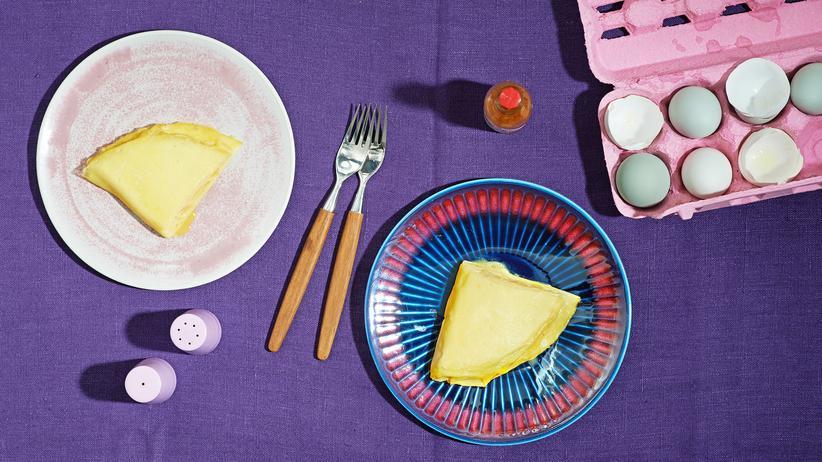 Kochen: Das Basis-Omelett ist bereits ein komplettes Gericht.