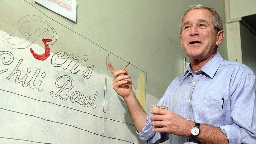 Ex-US-Präsident: Schon während seiner Amtszeit griff George W. Bush gelegentlich zum Pinsel
