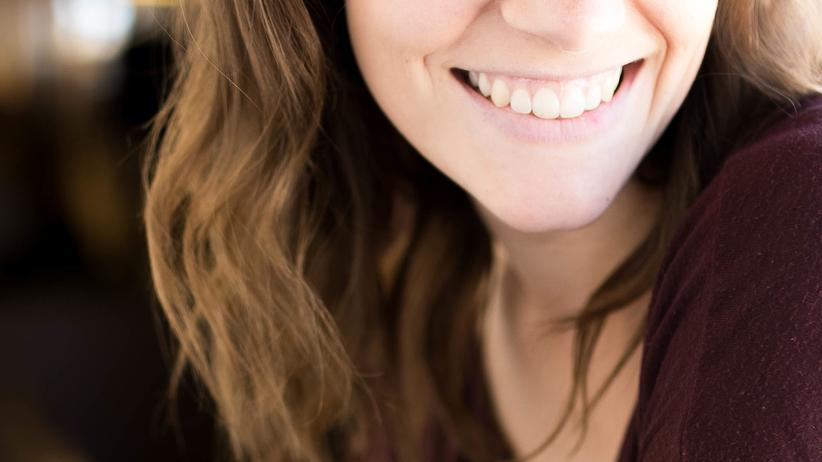 Perfektionismus: Sogar ein Lächeln kann perfekt sein.