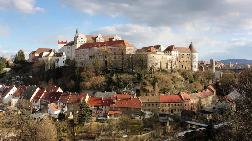 Die Bautzener Altstadt und das Spreetal