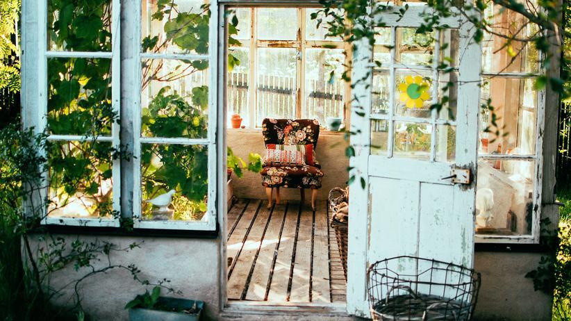 She-Sheds: Exit-Strategie: Die Gartenlaube gehört ihr allein.