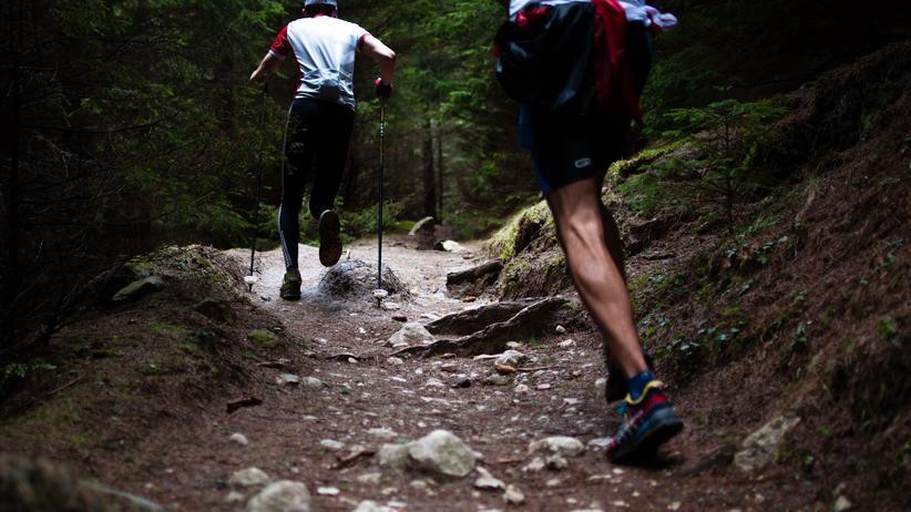 Wie es wirklich ist: Kein Pfad zu steil: Läufer im rumänischen Piatra-Craiului-Gebirge