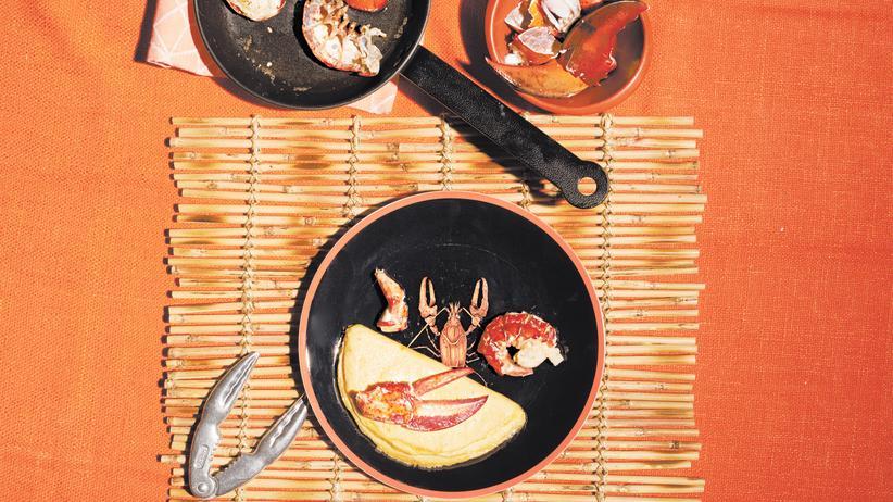 Omelett mit Hummer: Königlicher Begleiter