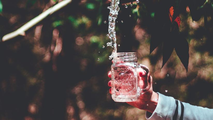 Wasser: Nicht alles schlucken!