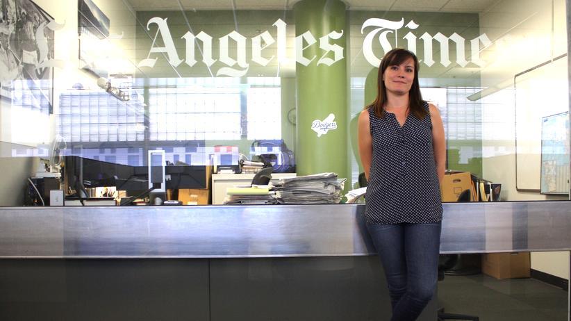 Gewalt: Die Redakteurin Nicole Santa Cruz ist verantwortlich für den Homicide Report.