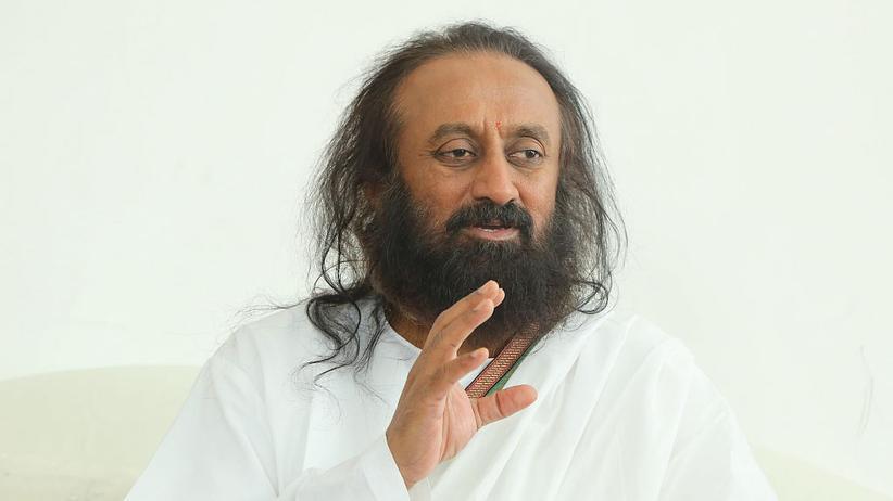 """Indischer Guru: """"Jeder möchte getröstet werden"""""""
