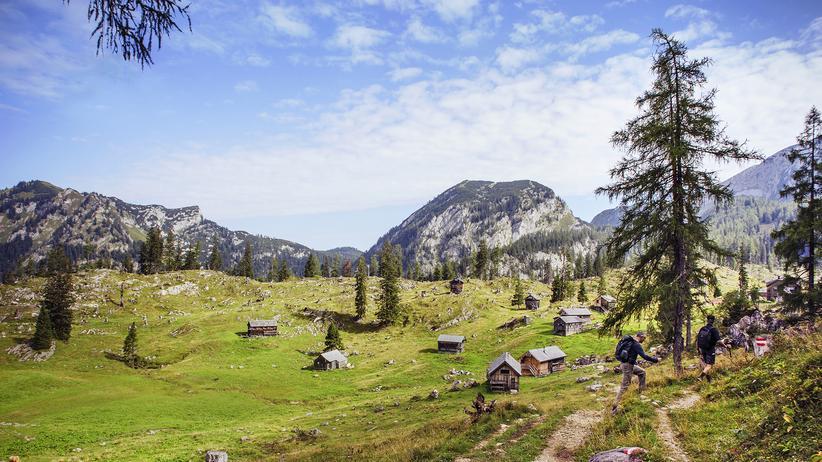 Berge-Seen-Trail: Auf den Weg gebracht