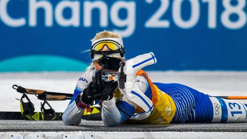 Biathlon: Sind so kleine Scheiben