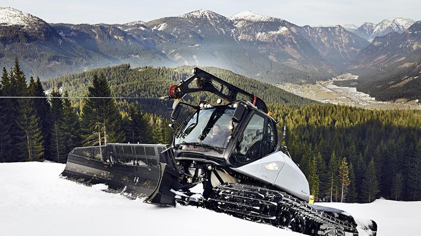 Wintersport: Abenteuer Pistenraupe